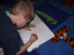First Grade O.W.L.s: math