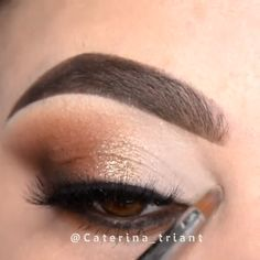 (notitle) - Eye Makeup - Augen Make Up Makeup 101, Eyebrow Makeup, Love Makeup, Skin Makeup, Makeup Inspo, Eyeshadow Makeup, Makeup Cosmetics, Makeup Inspiration, Makeup Looks
