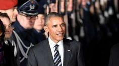 Obama defends globalisation on Germany visit #UK News BBC