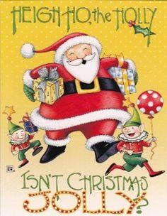 Mary Engelbreit Santa Claus and Elves