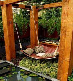 Gartenschaukel selber bauen - wunderschöne Ideen und Tipps für Sie
