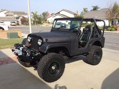 restored and customized 1974 Jeep offroad for sale Jeep Winch, Cj Jeep, Jeep Wrangler Yj, Jeep Cars, Jeep 4x4, Jeep Truck, Jeep Willys, Jeep Cj7 For Sale, Montero Sport