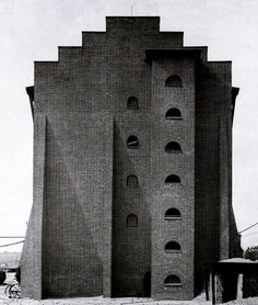 Hans Poelzig. Sulphuric Acid Factory in Luban, Poland, 1911-1912