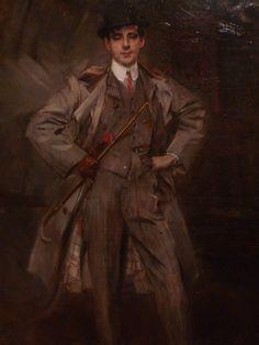 'Portrait of Georges Goursat (Sem)' in 1902 by Giovanni Boldini. Oil on Canvas. Musée des Arts décoratifs Paris