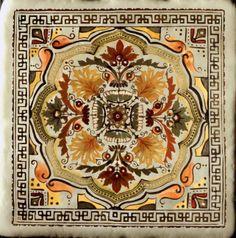 "Connies Custom Creations - Mediterranean Stone Travertine Tile 4"", $16.99 (http://www.conniescustomcreations.net/mediterranean-stone-travertine-tile-4/)"