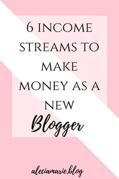 Did you know you can make money from your blog, even if your a beginner blogger? Read more to find out 6 different income streams you can add to your blog to begin making money today!