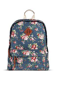 Floral Print Backpack, $29.99, target.com   - Seventeen.com
