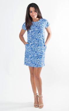 Resort Wear : Banana Leaf Dress