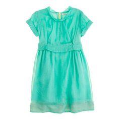 GIRLS' ORGANDY POPPET DRESS
