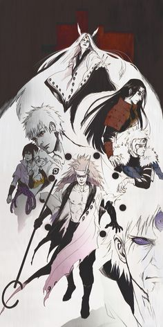 Kaguya, Senju, & Uchiha Clans.