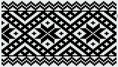 Kvarder i smøyg – Vevstua Bull-Sveen Cross Stitch Borders, Cross Stitching, Cross Stitch Patterns, Knitting Charts, Knitting Stitches, Knitting Patterns, Tapestry Crochet Patterns, Loom Patterns, Hardanger Embroidery