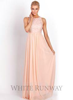 Aneeta Lace Dress Beautiful Full Length Bridesmaid Dress