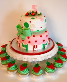 CakesbyKirsten.  #Strawberry shortcake.