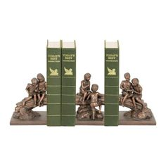 Sterling Industries 91-4072 Set/3 Secret Tree Bookends