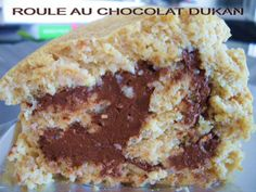 GATEAU GAGA - Love cakes: Roulé au chocolat Dukan