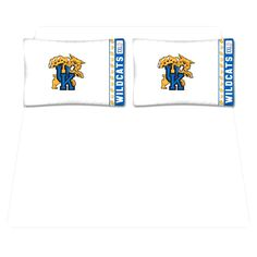 Kentucky Wildcats Queen Size Sheet Set - $55.99