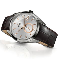 The latest male supermodel RADO HyperChrome Automatic Small Second (See more at En/Fr/Es: http://watchmobile7.com/articles/rado-hyperchrome-automatic-small-second) (4/7) #watches #rado