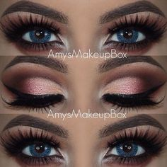 5 Ways to Make Blue Eyes Pop with Proper Eye Makeup Loading. 5 Ways to Make Blue Eyes Pop with Proper Eye Makeup Makeup Goals, Makeup Inspo, Makeup Tips, Beauty Makeup, Makeup Ideas, Makeup Tutorials, Makeup Trends, Eye Makeup Designs, Runway Makeup