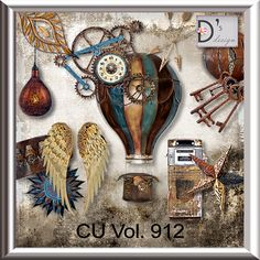 Vol. 912 - Steampunk Mix by Doudou's Design