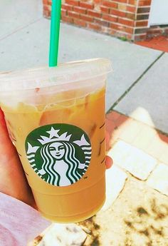 ♡Iced coffee from Starbucks♡