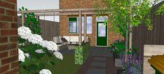 Kindvriendelijke achtertuin Veenendaal - Arch, Outdoor Structures, Garden, Plants, Longbow, Lawn And Garden, Arches, Gardens, Plant