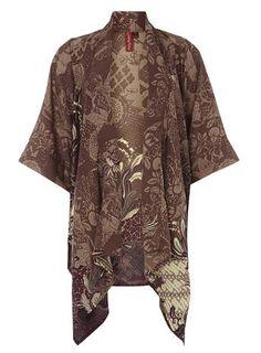 Ruby Rocks Deco Batik Wide Sleeve Kimono