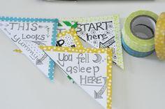 MommyCoddle Blog - Washi tapebookmarks