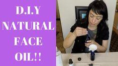 D.I.Y. NATURAL FACE OIL!!!