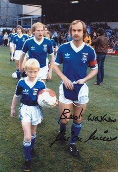 Hand Signed 12x8 Photo Ipswich Town 1981 Mick Mills   eBay