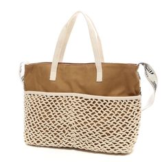 COOCO mesh crochet bag