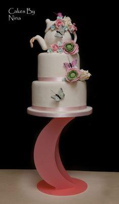 High Tea Wedding Cake ~ all edible