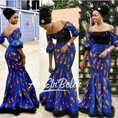 Blue African Print Dress/African Clothing/African Dress For Women/African Dress/African Midi Dress/African Ankara Dress/Ankara Print Dress African Print Dresses, African Print Fashion, African Fashion Dresses, African Attire, African Wear, African Women, African Dress, African Fabric, Ankara Fashion