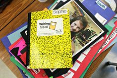 Tunstall's Teaching Tidbits: Young Author Portfolios and Celebration Writing Notebook, Writing Lessons, First Grade, School Days, Celebration, Writer, Author, Classroom, Student