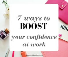 Let's face it, even if you love your job, there are bound to be days where you just don't feel very confident at it. Perhaps someone gave you a negative comment, your kids keep interrupting (if you work from home!), or it's just 'one of those days'. No matter the reason, low confidence at work can really … Read more...