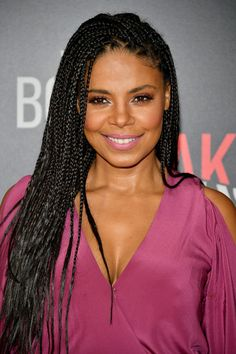 """Actress Sanaa Lathan attends the premiere of Sony Pictures Releasing's """"When The Bough Breaks"""" at Regal LA Live Stadium 14 on August 28, 2016 in Los Angeles, California."""