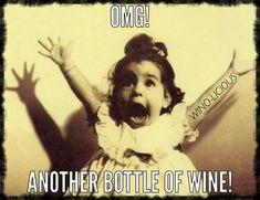 My EXACT reaction! More #WineWednesday