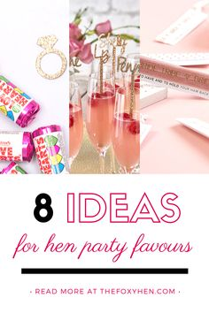 If you're planning a hen party, hen do, bridal shower or bachelorette party, you'll probably be looking for hen party favour ideas to gift your ladies with a special souvenir to remember the occasion! Spoil them with one of our favor ideas in our new blog! Hens Party Themes, Hen Party Decorations, Hen Party Favours, Bachelorette Decorations, Something To Remember, Girly Gifts, Thoughtful Gifts, Party Planning, Bridal Shower