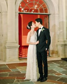 Annie And Tad's Elegant Beverly Hills Wedding - Second Look