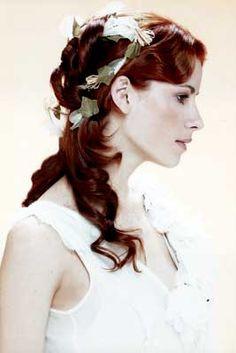 peinados de novia con ondas