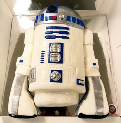 R2D2 star warx cake