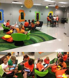 "Bridlewood Elementary introduces ""The Space"" a new, flexible learning environment."