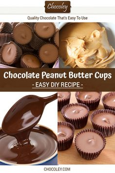 Get this easy chocolate peanut butter cup recipe. It is a favorite homemade milk chocolate recipe! Chocolate Peanut Butter Cup Recipe, Homemade Milk Chocolate, Chocolate Desserts, Caramel Recipes, Fudge Recipes, Sweets Recipes, Vegan Recipes, Best Fudge Recipe, Dessert From Scratch