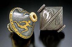 Art Jewelry Elements: Art Jewelry Buzz: Metal Clay and Faux Bone