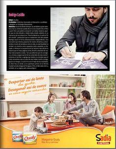 """Entrevista publicada en revista cultural del diario """"La Hora"""", Chile."""