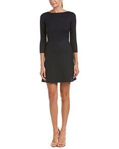 Theory Womens Kamillina.Saxton Wool-Blend A-Line Dress, 1...