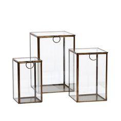Glassboks høy M