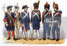 Photo d'actualité : Uniforms of french army Field Artillery 171819th...