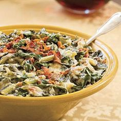 Delicious Creamed Collard Greens or Turnip Greens (can make without béchamel, but very tasty with it! Decrease béchamel in half and easily blend in Vitamixer)