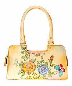 Another great find on #zulily! Rose Leather Shoulder Bag by Magnifique Bags #zulilyfinds