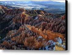Bryce Canyon - 8 Canvas Print / Canvas Art By Tom Clark. My complete collection is in the following link, do stop by and enjoy all the fine art   -   http://2-tom-clark.pixels.com/index.html?tab=galleries